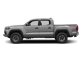 Silver Sky Metallic 2016 Toyota Tacoma Pictures Tacoma TRD Off-Road Crew Cab 2WD V6 photos side view