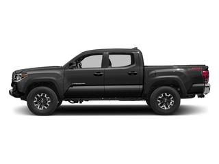 Magnetic Gray Metallic 2016 Toyota Tacoma Pictures Tacoma TRD Off-Road Crew Cab 2WD V6 photos side view