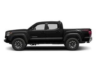 Black 2016 Toyota Tacoma Pictures Tacoma TRD Off-Road Crew Cab 2WD V6 photos side view