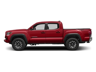 Barcelona Red Metallic 2016 Toyota Tacoma Pictures Tacoma TRD Off-Road Crew Cab 2WD V6 photos side view