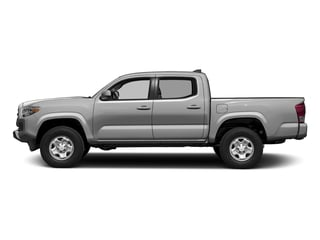 Silver Sky Metallic 2016 Toyota Tacoma Pictures Tacoma SR Crew Cab 4WD V6 photos side view