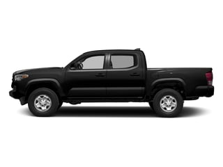 Black 2016 Toyota Tacoma Pictures Tacoma SR Crew Cab 4WD V6 photos side view