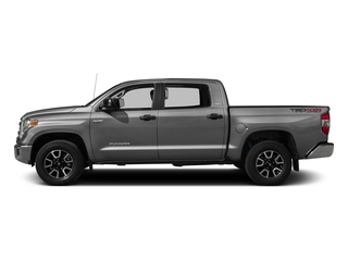 Silver Sky Metallic 2016 Toyota Tundra 2WD Truck Pictures Tundra 2WD Truck SR5 CrewMax 2WD photos side view