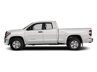 Super White 2016 Toyota Tundra 4WD Truck Pictures Tundra 4WD Truck SR5 Double Cab 4WD photos side view