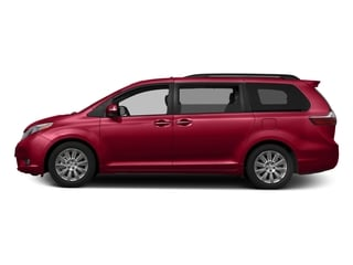 Salsa Red Pearl 2016 Toyota Sienna Pictures Sienna Wagon 5D XLE AWD V6 photos side view