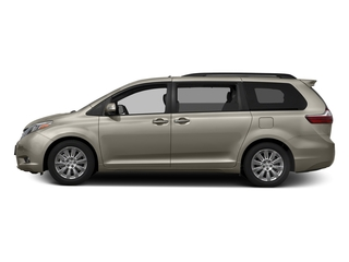 Creme Brulee Mica 2016 Toyota Sienna Pictures Sienna Wagon 5D XLE AWD V6 photos side view