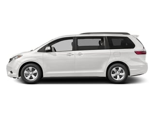 Super White 2016 Toyota Sienna Pictures Sienna Wagon 5D LE V6 photos side view