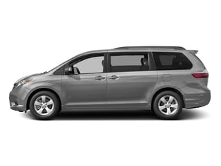 Silver Sky Metallic 2016 Toyota Sienna Pictures Sienna Wagon 5D LE V6 photos side view