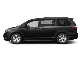Midnight Black Metallic 2016 Toyota Sienna Pictures Sienna Wagon 5D LE V6 photos side view