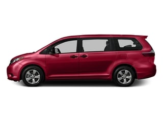 Salsa Red Pearl 2016 Toyota Sienna Pictures Sienna Wagon 5D L V6 photos side view