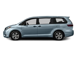 Sky Blue Pearl 2016 Toyota Sienna Pictures Sienna Wagon 5D L V6 photos side view
