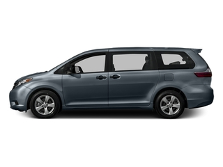 Shoreline Blue Pearl 2016 Toyota Sienna Pictures Sienna Wagon 5D L V6 photos side view