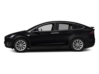 Obsidian Black Metallic 2016 Tesla Motors Model X Pictures Model X Utility 4D Performance AWD photos side view