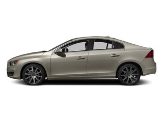 Seashell Metallic 2016 Volvo S60 Pictures S60 Sedan 4D T6 Platinum Drive-E Turbo photos side view