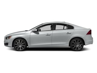 Crystal White Pearl 2016 Volvo S60 Pictures S60 Sedan 4D T6 Platinum Drive-E Turbo photos side view
