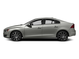 Bright Silver Metallic 2016 Volvo S60 Pictures S60 Sedan 4D T6 Platinum Drive-E Turbo photos side view