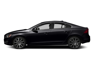 Onyx Black Metallic 2016 Volvo S60 Pictures S60 Sedan 4D T6 Platinum Drive-E Turbo photos side view