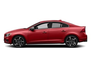 Passion Red 2016 Volvo S60 Pictures S60 Sedan 4D T6 R-Design AWD I6 Turbo photos side view