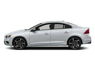 Crystal White Pearl 2016 Volvo S60 Pictures S60 Sedan 4D T6 R-Design AWD I6 Turbo photos side view