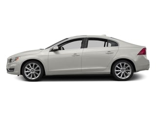 Crystal White Pearl 2016 Volvo S60 Inscription Pictures S60 Inscription Sedan 4D Inscription T5 Premier AWD photos side view
