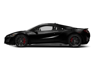 Berlina Black 2017 Acura NSX Pictures NSX Coupe 2D AWD V6 Hybrid Turbo photos side view