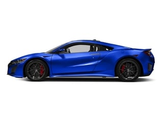 Nouvelle Blue Pearl 2017 Acura NSX Pictures NSX Coupe 2D AWD V6 Hybrid Turbo photos side view