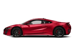 Valencia Red Pearl 2017 Acura NSX Pictures NSX Coupe 2D AWD V6 Hybrid Turbo photos side view