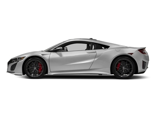 Source Silver Metallic 2017 Acura NSX Pictures NSX Coupe 2D AWD V6 Hybrid Turbo photos side view