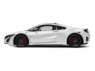130R White 2017 Acura NSX Pictures NSX Coupe 2D AWD V6 Hybrid Turbo photos side view