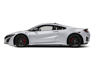 Casino White Pearl 2017 Acura NSX Pictures NSX Coupe 2D AWD V6 Hybrid Turbo photos side view