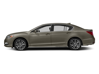 Gilded Pewter Metallic 2017 Acura RLX Pictures RLX Sedan 4D Technology V6 photos side view