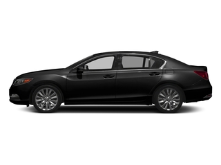 Crystal Black Pearl 2017 Acura RLX Pictures RLX Sedan w/Advance Pkg photos side view
