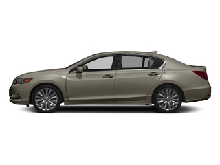 Gilded Pewter Metallic 2017 Acura RLX Pictures RLX Sedan w/Advance Pkg photos side view