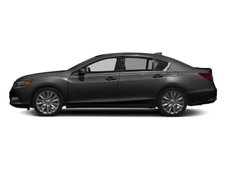 Graphite Luster Metallic 2017 Acura RLX Pictures RLX Sedan w/Advance Pkg photos side view