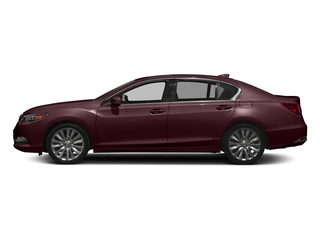 Pomegranate Pearl 2017 Acura RLX Pictures RLX Sedan w/Advance Pkg photos side view