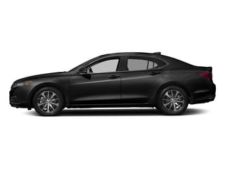 Crystal Black Pearl 2017 Acura TLX Pictures TLX FWD photos side view