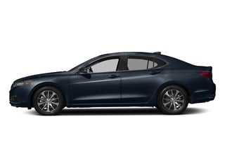 Fathom Blue Pearl 2017 Acura TLX Pictures TLX Sedan 4D I4 photos side view