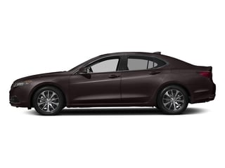 Black Copper Pearl 2017 Acura TLX Pictures TLX Sedan 4D I4 photos side view
