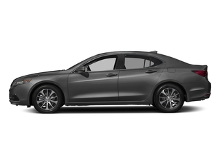 Modern Steel Metallic 2017 Acura TLX Pictures TLX Sedan 4D I4 photos side view