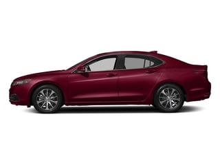 San Marino Red 2017 Acura TLX Pictures TLX Sedan 4D I4 photos side view