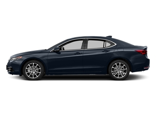 Fathom Blue Pearl 2017 Acura TLX Pictures TLX FWD V6 w/Technology Pkg photos side view