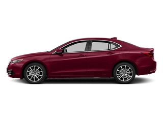 San Marino Red 2017 Acura TLX Pictures TLX FWD V6 w/Technology Pkg photos side view