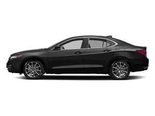 Crystal Black Pearl 2017 Acura TLX Pictures TLX Sedan 4D Technology AWD V6 photos side view