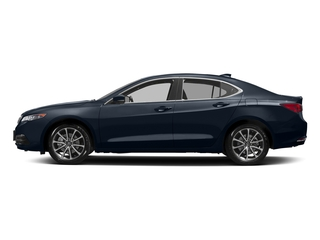 Fathom Blue Pearl 2017 Acura TLX Pictures TLX Sedan 4D Technology AWD V6 photos side view