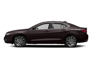 Black Copper Pearl 2017 Acura TLX Pictures TLX Sedan 4D Technology AWD V6 photos side view