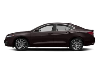 Black Copper Pearl 2017 Acura TLX Pictures TLX SH-AWD V6 w/Technology Pkg photos side view