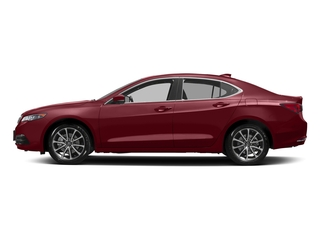 San Marino Red 2017 Acura TLX Pictures TLX SH-AWD V6 w/Technology Pkg photos side view