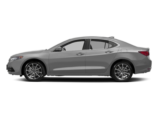 Lunar Silver Metallic 2017 Acura TLX Pictures TLX Sedan 4D Technology AWD V6 photos side view