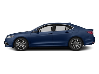 Fathom Blue Pearl 2017 Acura TLX Pictures TLX SH-AWD V6 w/Advance Pkg photos side view