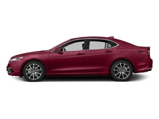San Marino Red 2017 Acura TLX Pictures TLX Sedan 4D Advance AWD V6 photos side view
